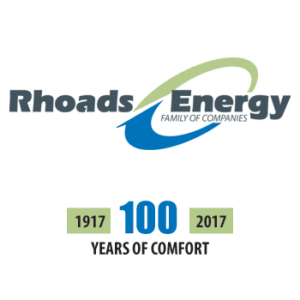 rhoads energy 100th logo
